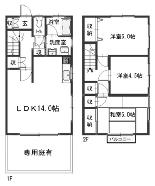 ■物件番号4395 海4分!3LDKテラスハウスが激安9万円!P1台付!中海岸!★キッチン、洗面台、浴室をリフォーム済!