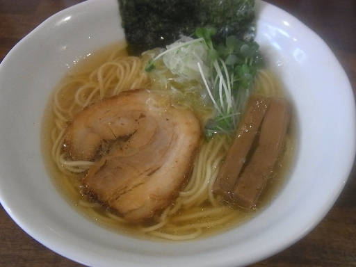魚介塩ソバ