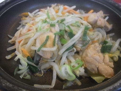 鶏肉の野菜炒め