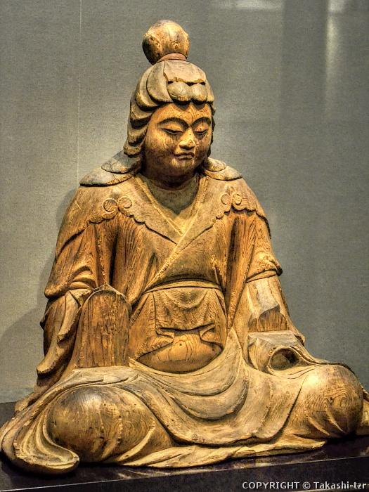 八幡三神坐像比売神坐像