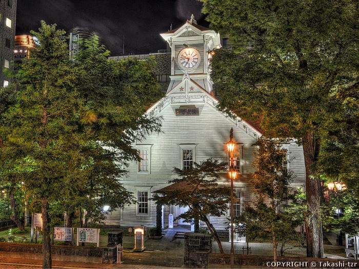 旧札幌農学校演武場(時計台)