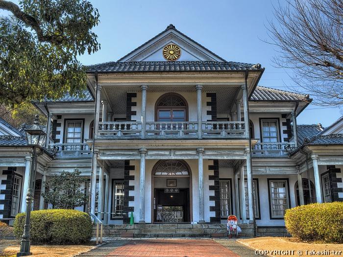 旧山梨県東山梨郡役所