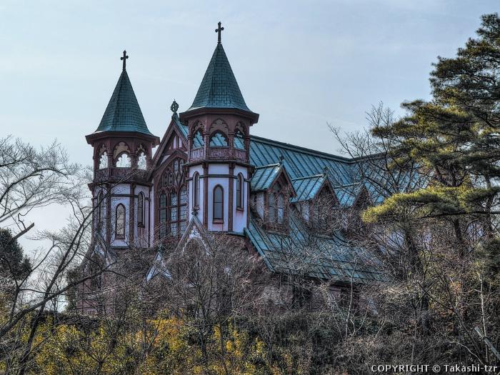 旧日本聖公会京都聖約翰教会堂