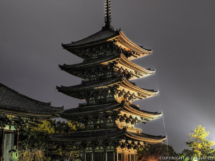 興福寺五重塔20141228