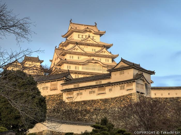 姫路城20141229