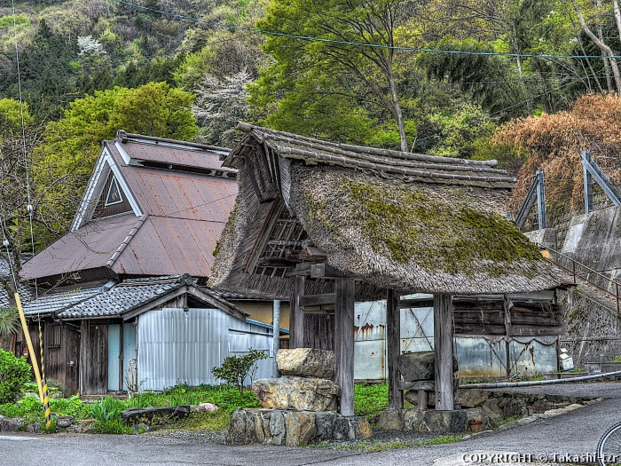 菅浦の湖岸集落景観2