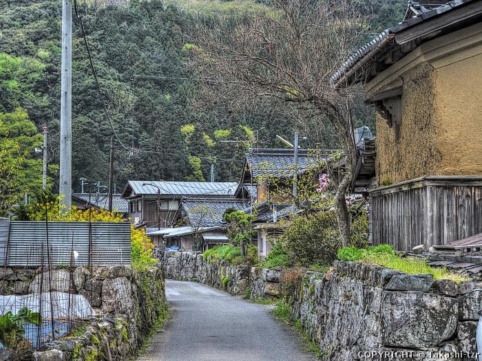菅浦の湖岸集落景観1