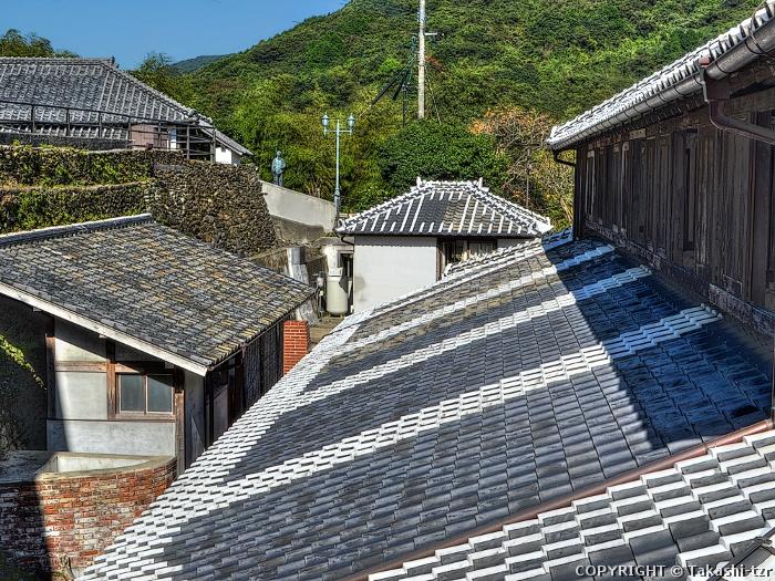 長崎市外海の石積集落景観2