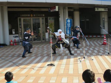 武将隊演舞!
