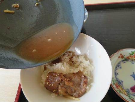 炒め汁投入