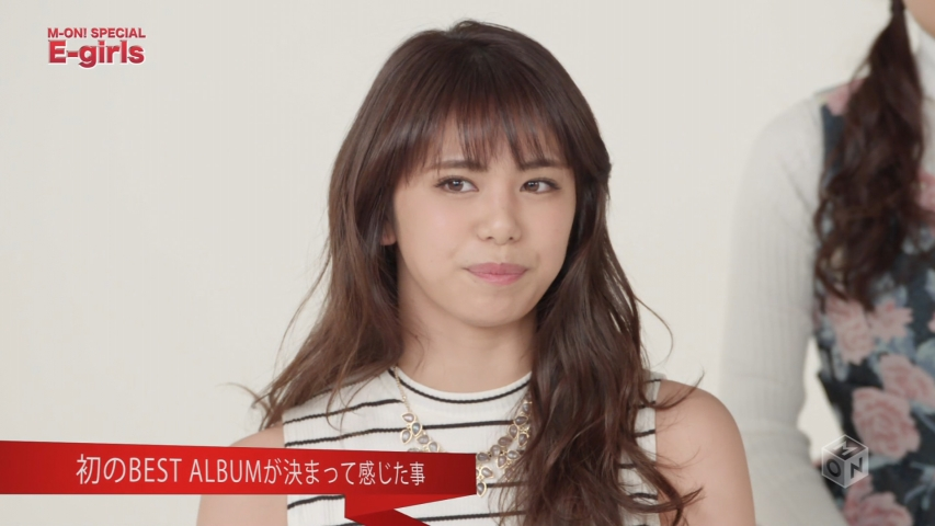 「M-ON! SPECIAL E-girls」佐藤晴美