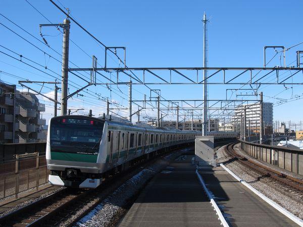 浮間舟渡駅大宮方に新設されたATACS基地局