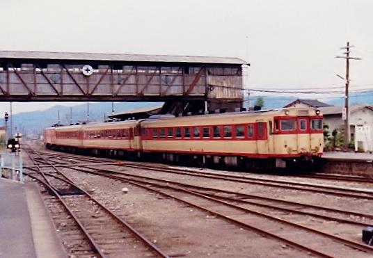 ②添田駅跨線橋