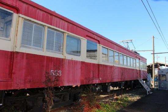 ⑬古い電車