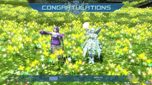 PC版の花畑素晴らしい…!