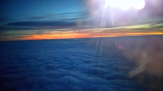 雲上の夕焼