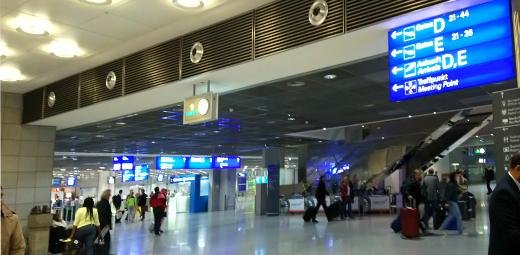 フランクフルトの第2ターミナル