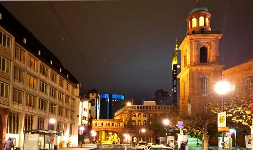 フランクフルトの市庁舎