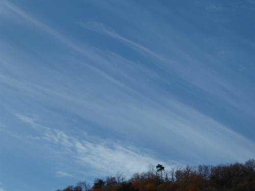 午後1時ごろの空