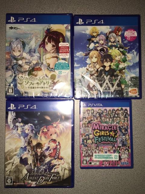 2016年01月02日の購入したゲーム