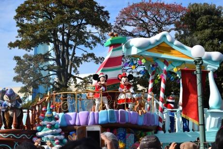 クリスマスパレード