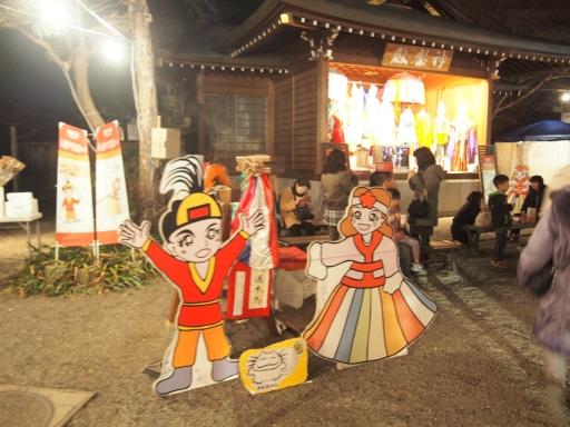 20160102・叔母との正月ネオン10・高麗神社