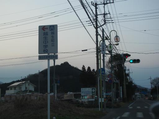 20160227・越生梅見・空21・日没後の帰途