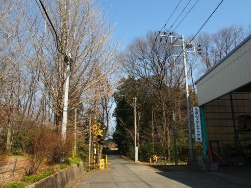 20160227・越生梅見・鉄写01・新しき村の踏切
