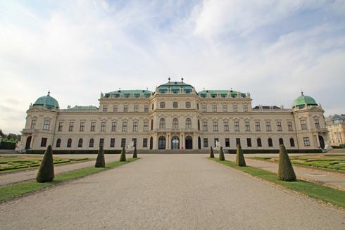 ベルヴェデーレ宮殿2015-8