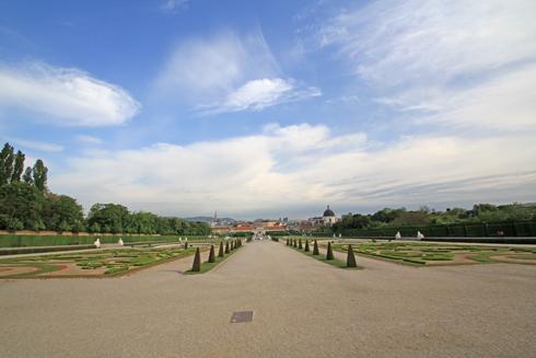 ベルヴェデーレ宮殿2015-9