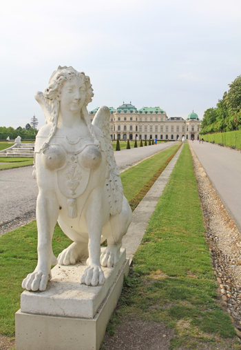 ベルヴェデーレ宮殿2015-11