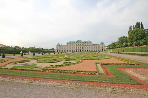ベルヴェデーレ宮殿2015-12