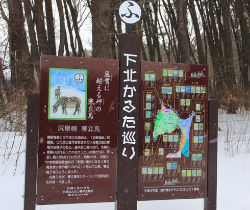 冬の寒立馬2016-2
