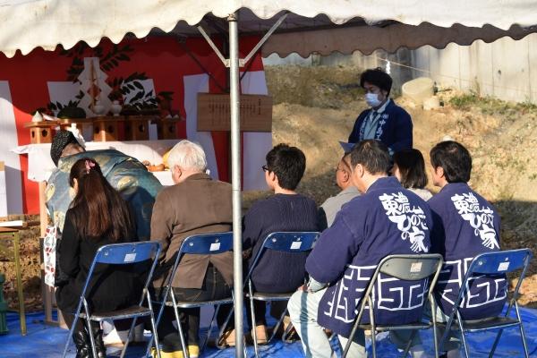 151213-日進市「中島とつくる家」地鎮祭