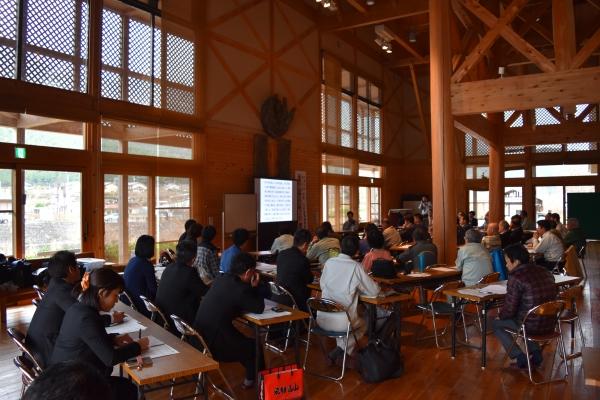 151216-「東濃桧と飛騨の杉の家づくり」連続講座01