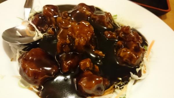 08黒蜜酢豚
