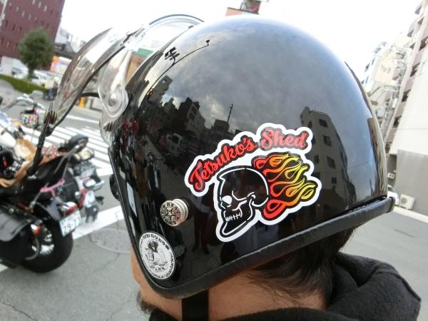 donkeyさんヘルメット2