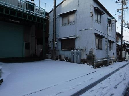 1蟹江町雪2016年1月20日