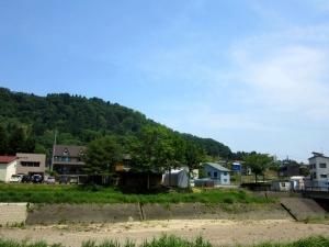 栃尾城/遠景