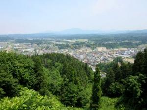 栃尾城/眺望