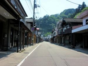 栃尾城/町並み