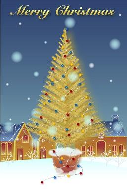 クリスマスカード-1