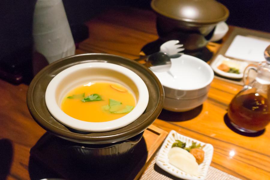 台の物 茶碗蒸し
