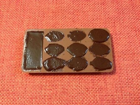 バレンタインデーにチョコレートを作ってみました8
