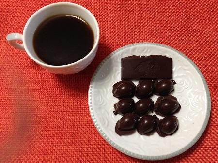 バレンタインデーにチョコレートを作ってみました9