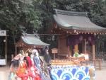 百太夫神社と人形