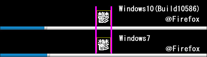 漢字1文字比較