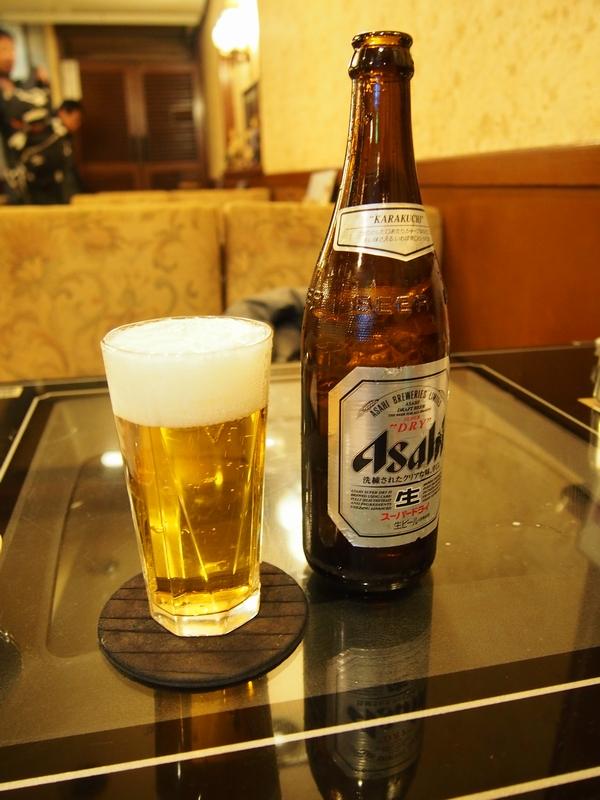 喫茶ボタン(練馬区北町)ビール