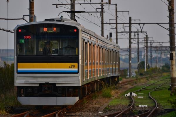2015年10月24日 JR東日本鶴見線 新芝浦 205系T12編成