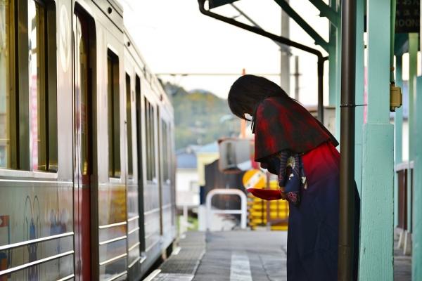 2015年10月31日 上田電鉄別所線 別所温泉 1000系1003編成
